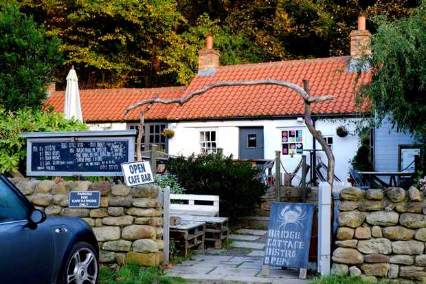 Bridge Cottage Bistro at Sandsend near Whitby
