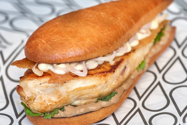 Schmaltz Mushroom Sandwich