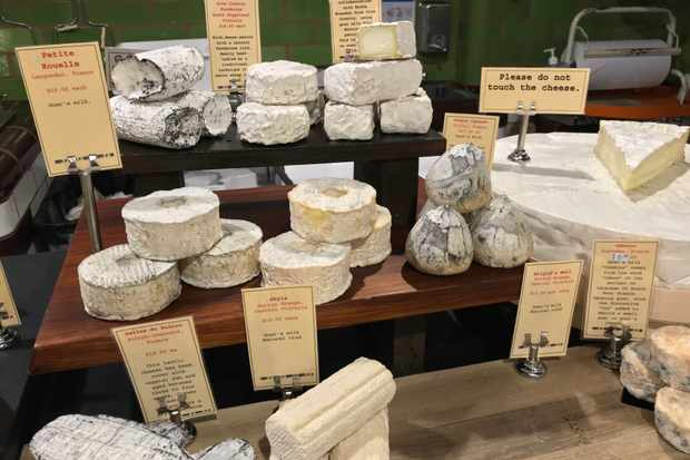 Spring Street Grocer cheese