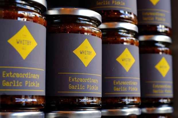 The Whitby Deli, garlic pickle