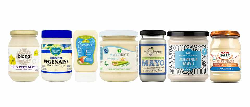 Vegan mayonnaise taste test header image