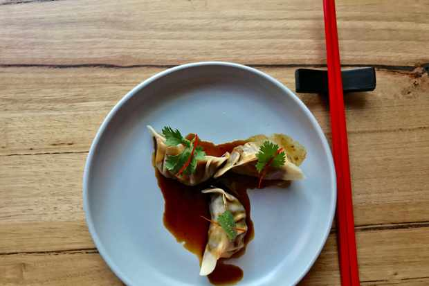 Ox tail dumplings in Annam