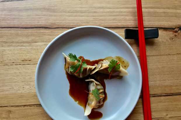 Ox tail dumplings in Annam