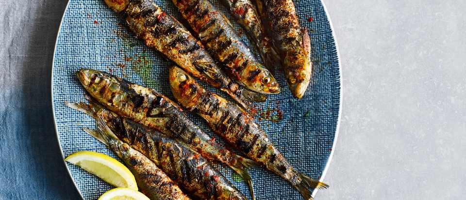 Grilled Portuguese Sardines Recipe Olivemagazine