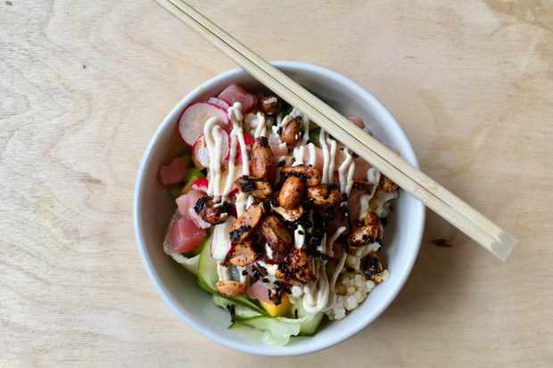 'A dose of zingy lunchtime freshness: Nook's tuna poké bowl