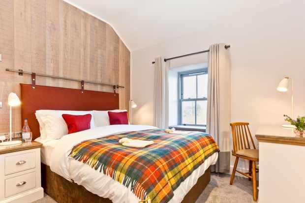 Cosy rooms at The Pentonbridge Inn