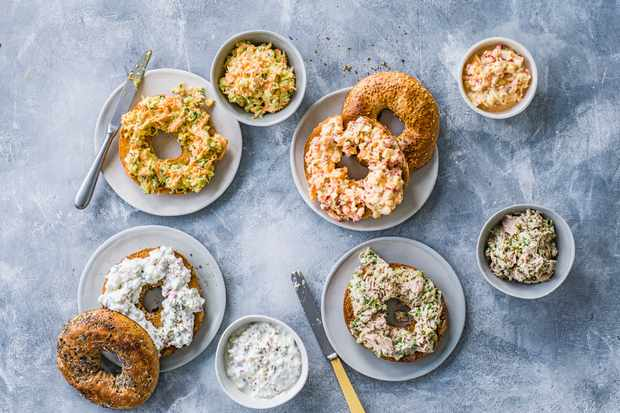 Easy Bagel Topping Recipes