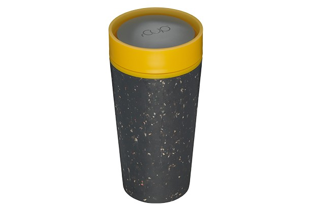 Black and mustard rCup