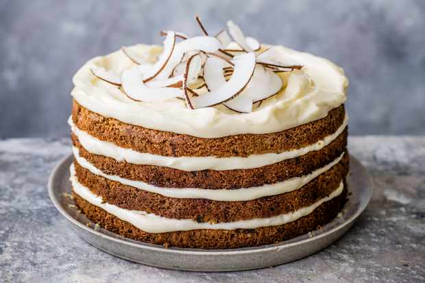 Courgette Cake Recipe With Coconut