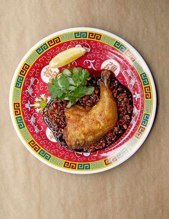 Chicken-Fried Chicken Recipe with Peanut Soy