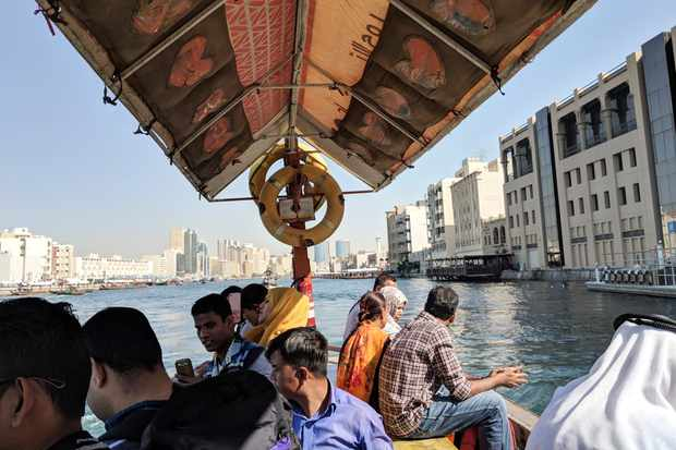Take an Abra across the creek to Visit Dubai in the old town