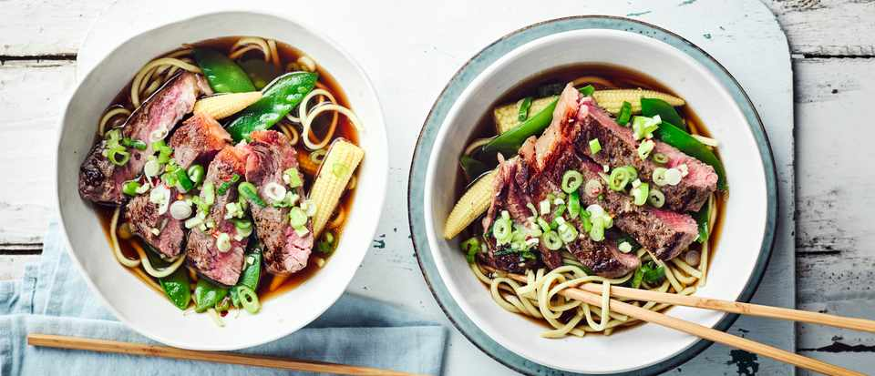 Steak Broth Recipe with Noodles