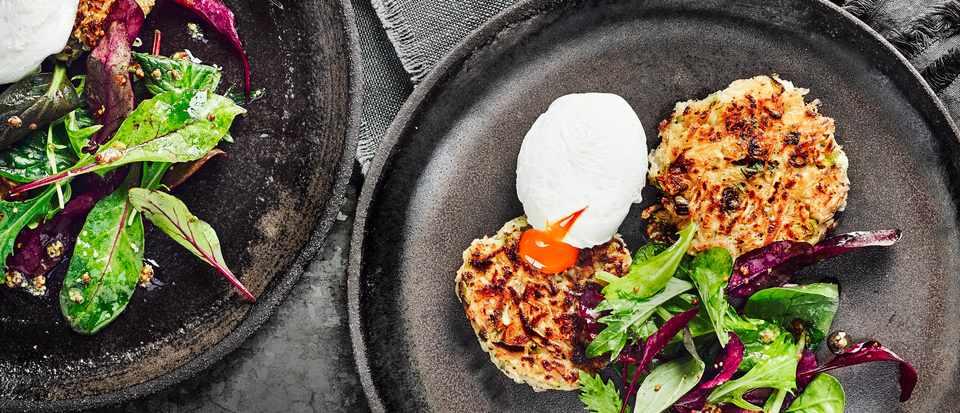 Celeriac Rösti Recipe with Eggs