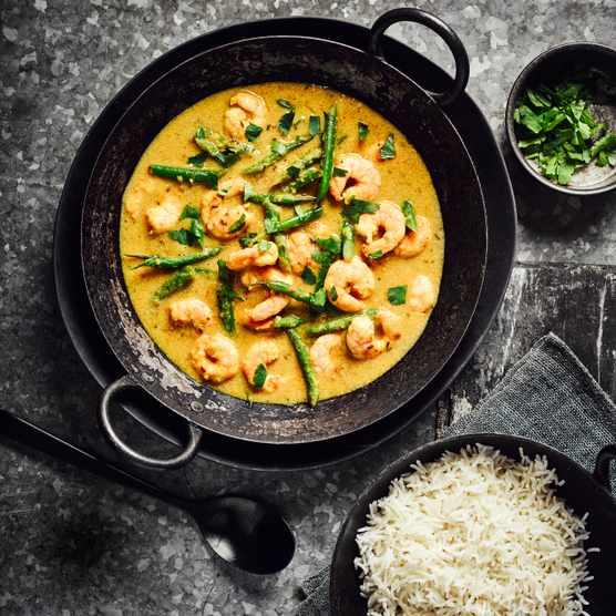 Prawn Caldine Curry Recipe