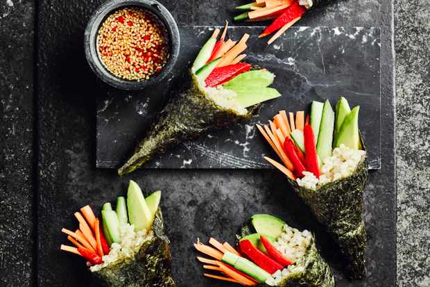 Temaki Hand Roll Recipe