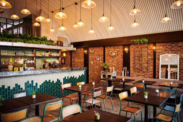 Arepa and Co interiors