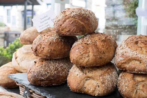 Loaves at Baker Tom Wadebridge