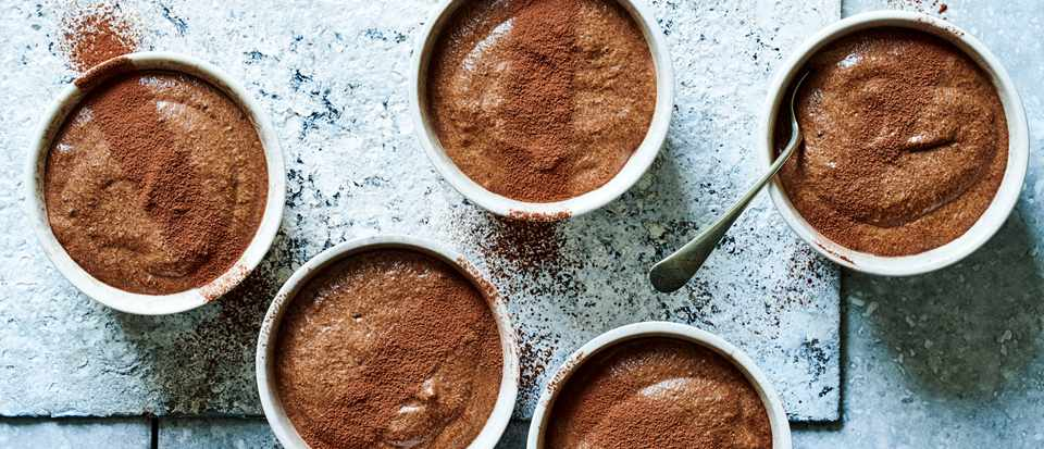 Chocolate Mousse Recipe with Affogato