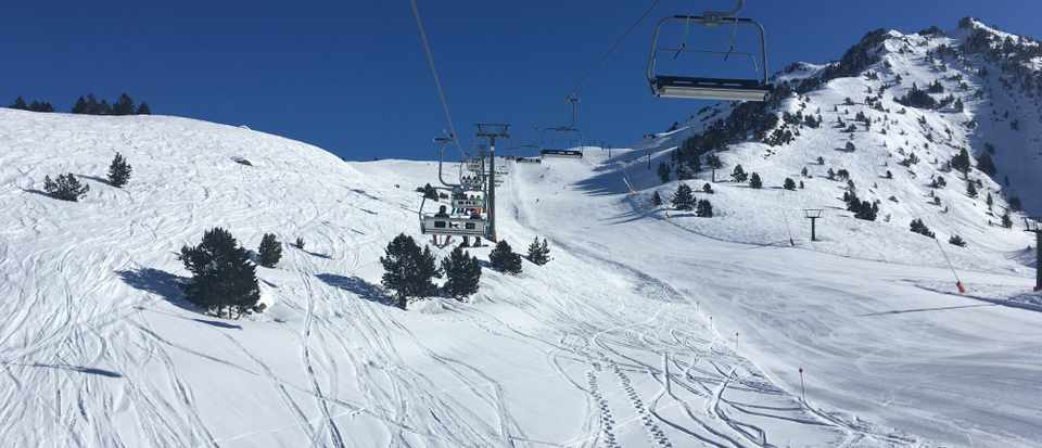 The slopes at baqueira