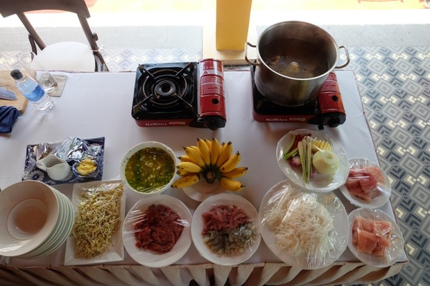 Cookery classes at La Siesta