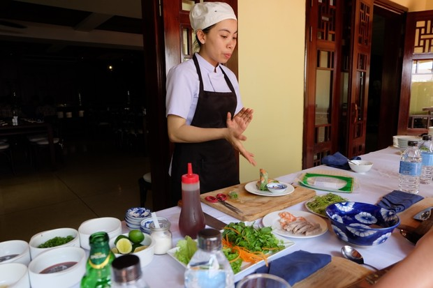 Cookery classes at La Siesta