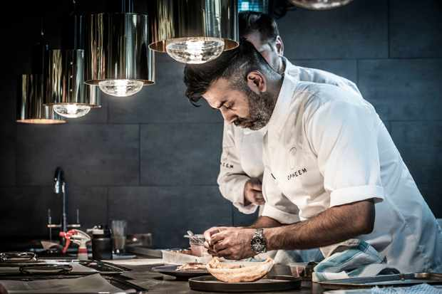 Chef Aktar Islam opens his latest restaurant Opheem on Summer Row. Opheem, Birmingham: Restaurant Review