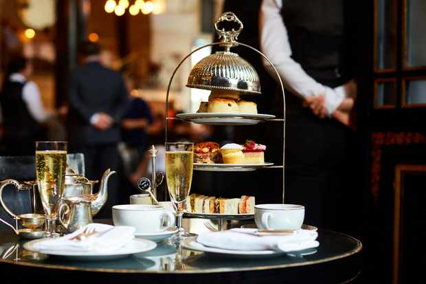 The Wolseley afternoon tea