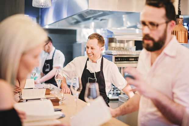 Scott Barnard Crockers Chefs Table