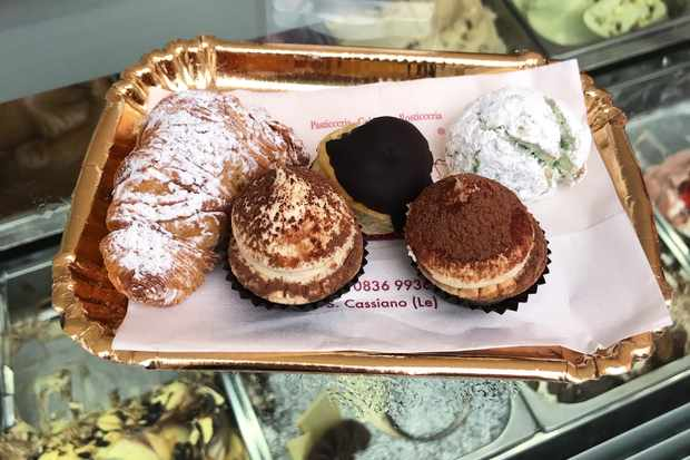Cakes at Dolci Fantasie in San Cassiano