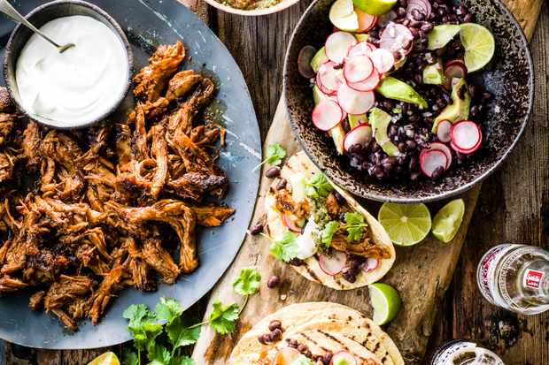 Lamb Tacos with Tomato Salsa