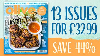 olive magazine July issue subscriptions deal