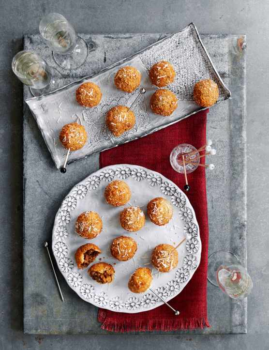 Truffled Porcini Arancini Recipe