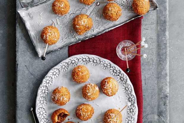 """Recette Arancini aux cèpes truffés """"title ="""" Recette Arancini aux cèpes truffés """"/>   <p><em> Vous recherchez les meilleures recettes d'arancini? Vous voulez faire les meilleurs <a href="""