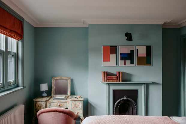 Cosy up in one of the eccentrically designed rooms