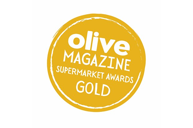 Gold olive summer supermarket awards logo 2018