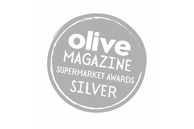Silver olive summer supermarket awards logo 2018