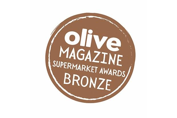 Bronze olive summer supermarket awards logo 2018