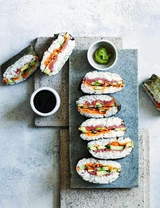 Onigirazu Sushi Sandwich Recipe