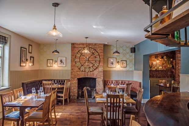 The Purefoy Arms, Hampshire: Restaurant Review