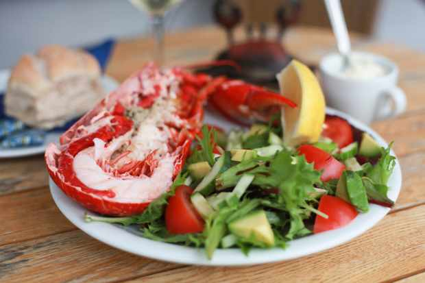Lobster at Fresh from the Sea, Port Isaac