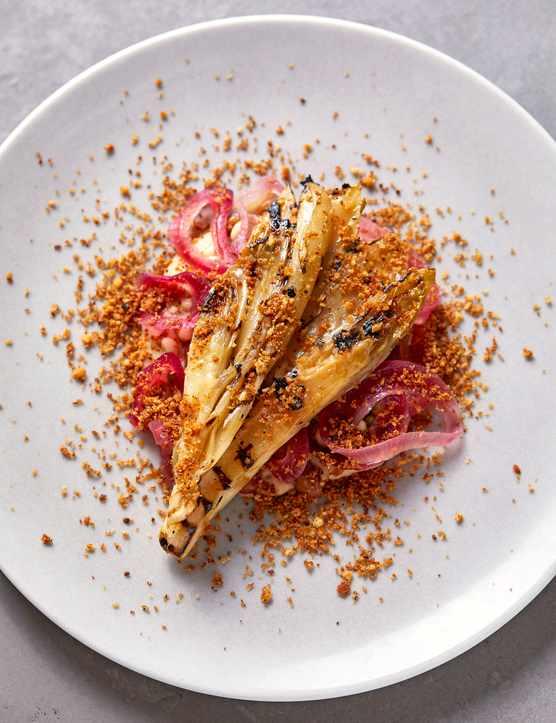 Chicory with Grain Salad Recipe