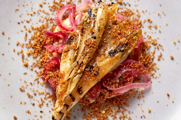 Chicory with Grain Salad Recipe