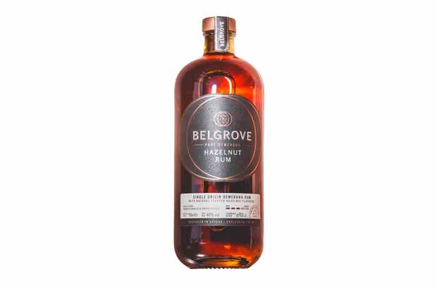 Belgrove Hazelnut Rum bottle