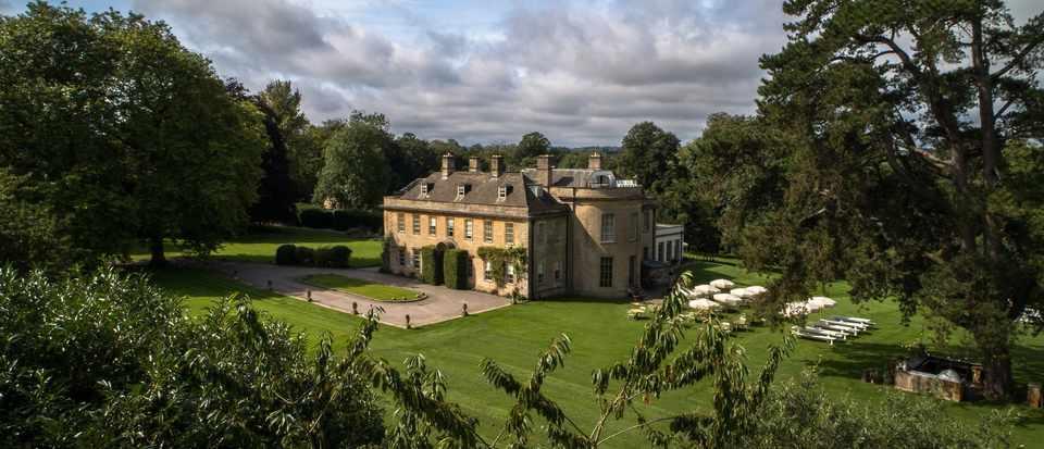 Stunning views of Babington house