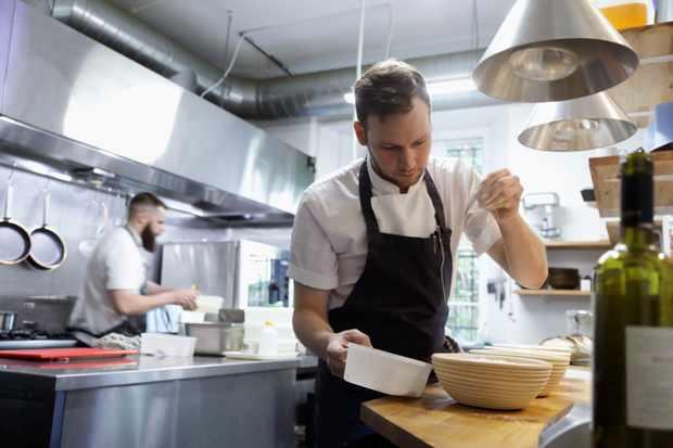 Scott Smith of Fhior restaurant in Edinburgh