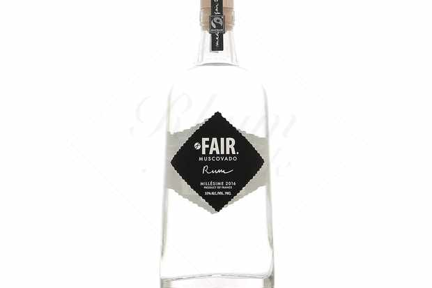FAIR. Muscovado Rum bottle