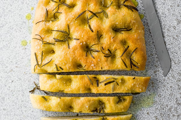 Focaccia Bread Recipe With Rosemary and Olive Oil