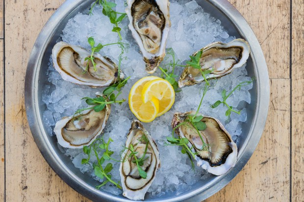 Loch Fyle oysters, served at Loch Fyne Oysters