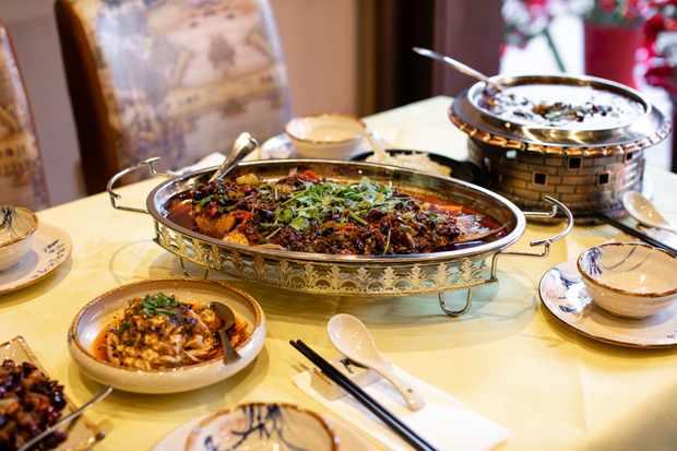 A Szechuanese feast at Jinli Chinatown