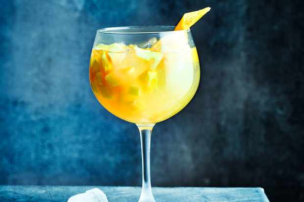 Iced Tea Sangria Recipe